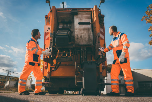 Garbage removal to prevent pests